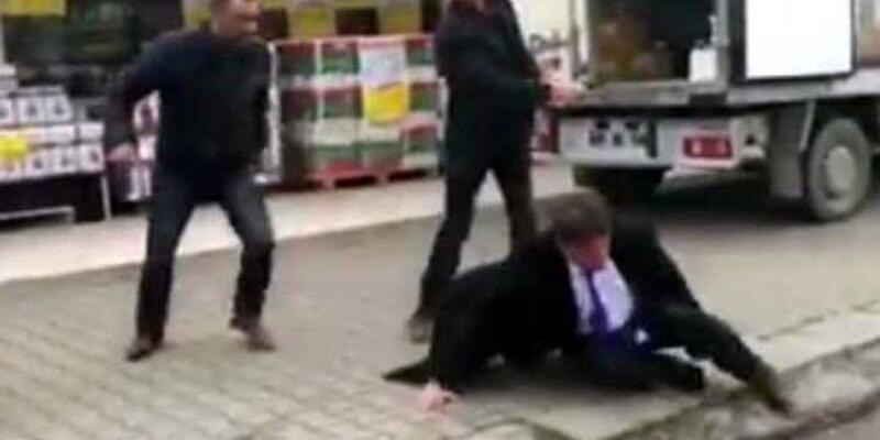 CHP'li başkanı dövenler serbest
