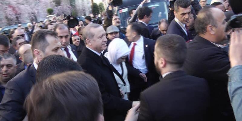 Erdoğan ABD'de Musevi kuruluşları temsilcileriyle görüştü