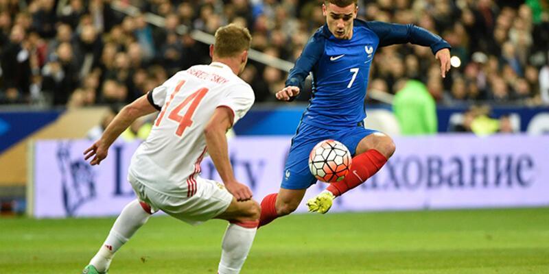 Fransa - Rusya: 4-2