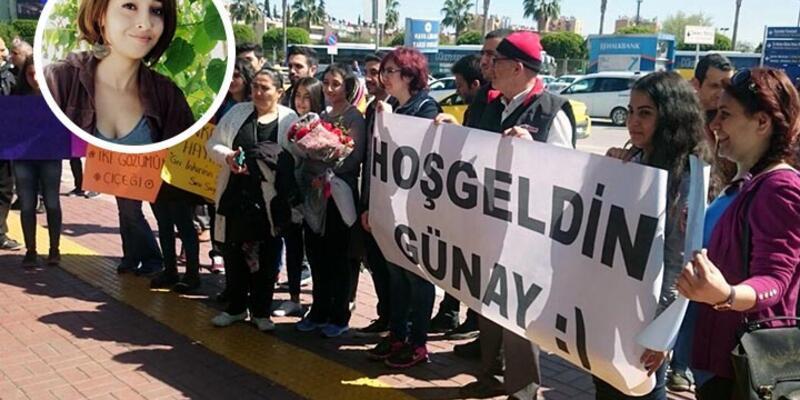 Barış Mitingi'nde yaralanan Günay Karakuş'a Adana'da sıcak karşılama