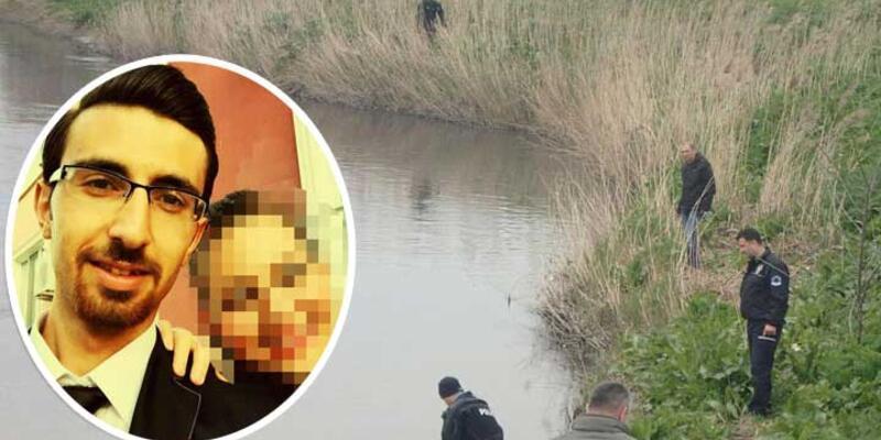 Nehre atılan bebek, Ergene'deki kirlilikten aranamıyor