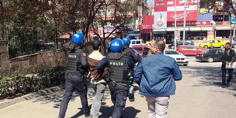 Ankara Üniversitesi'nde gerginlik: 19 gözaltı