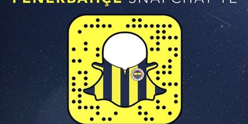 Fenerbahçe SnapChat'te