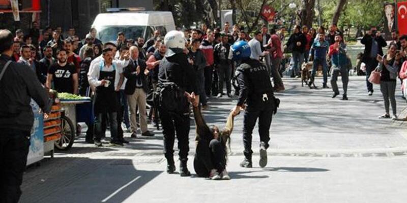 Ankara'da tehlikeli gerginlik: 15 gözaltı