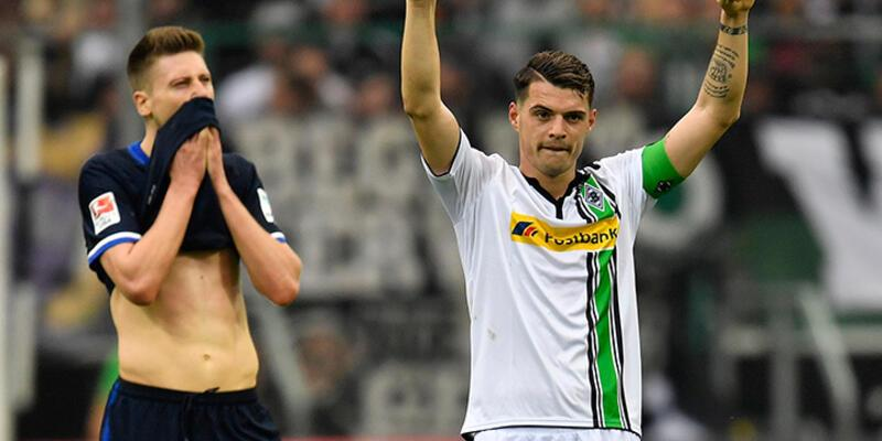 Mönchengladbach Hertha Berlin'e patladı