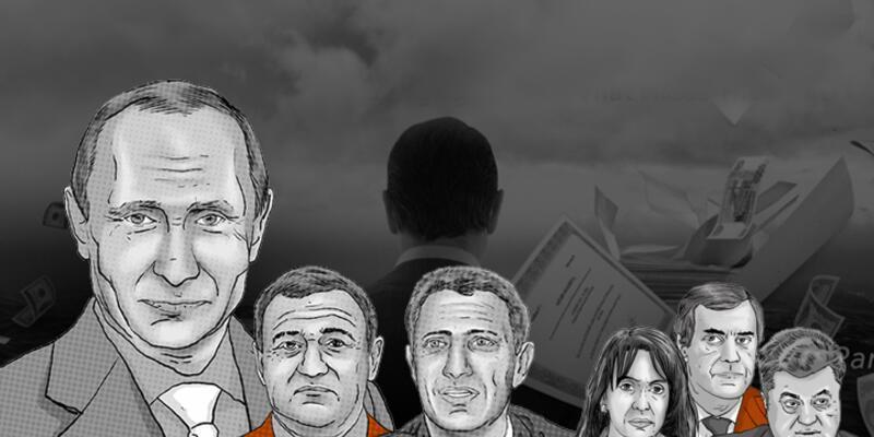 Offshore hesaplar arasında Putin'e yakın isimler var