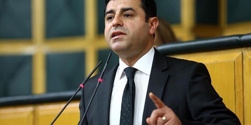 """Demirtaş: """"Tek bir HDP'li kendi ayağıyla ifade vermeye gitmeyecek"""""""