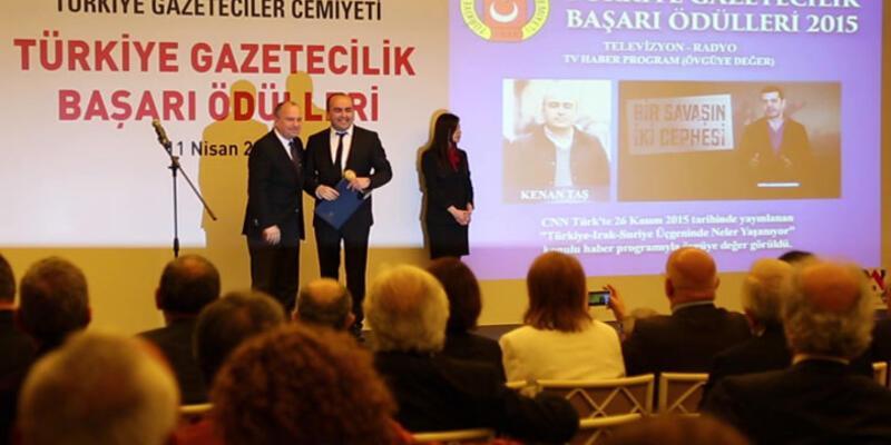 Türkiye Gazeteciler Cemiyeti  5N 1K'yı ödüllendirdi