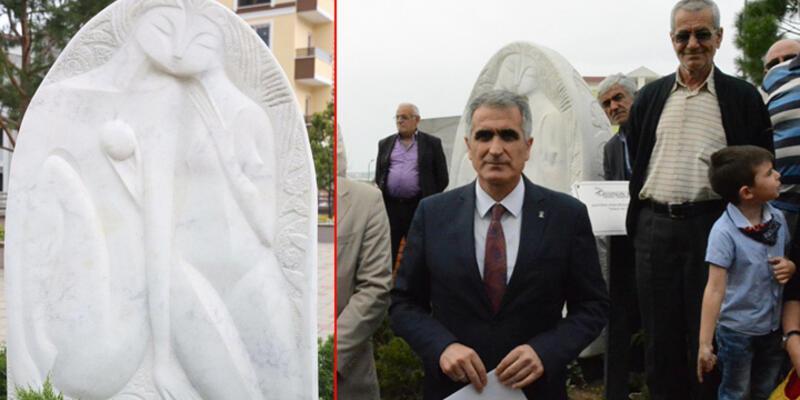 AK Partililer 'Adem ile Havva' heykelini müstehcen bulup kaldırılmasını istedi
