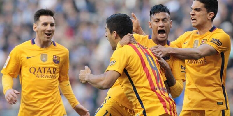 Barcelona, Deportivo'ya 8 attı