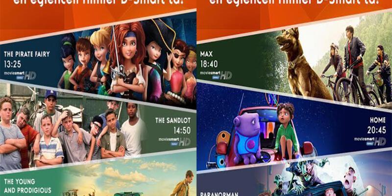 23 Nisan'da çocuklara özel filmler D-Smart'ta