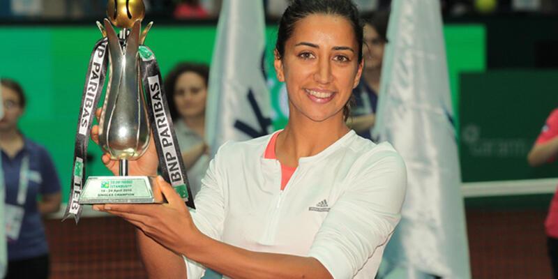 WTA, Çağla Büyükakçay'ı ayın en iyi çıkış yapan ismi seçti