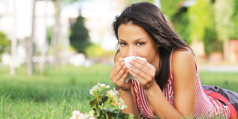 Her 4 kişiden biri bahar alerjisi