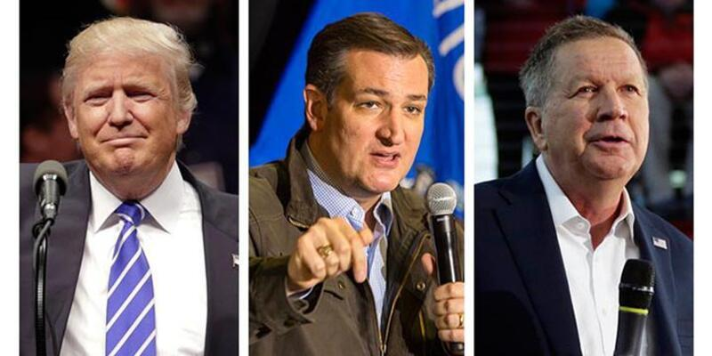 İki aday Trump'a karşı harekete geçti