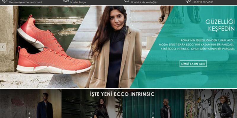 ECCO'nun online sitesi yüzde 20 indirimle açıldı