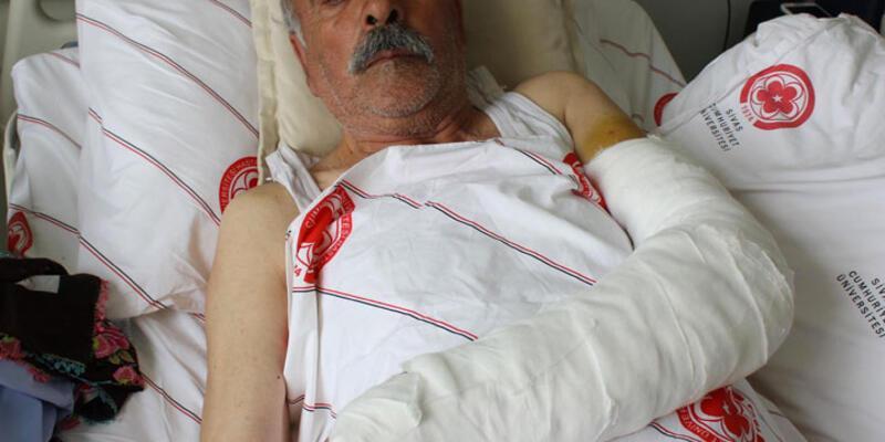 Muhtar, 72 yaşındaki köylüyü sopayla hastanelik etti