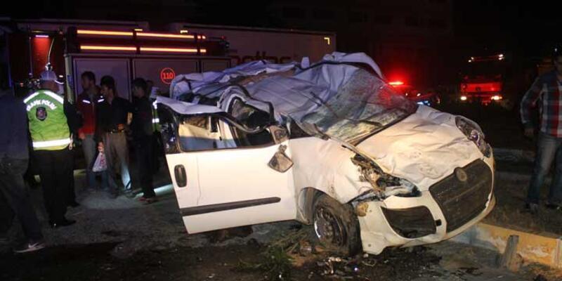 Manisa'da trafik kazası: 1 ölü, 26 yaralı