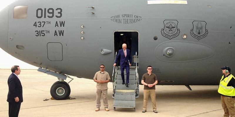 Joe Biden Kuzey Irak'ta, Barzani ile görüştü