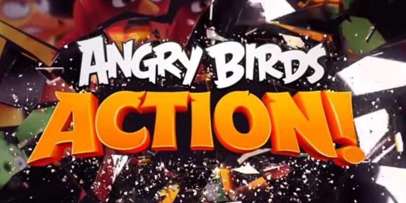Angry Birds Action duyuruldu!