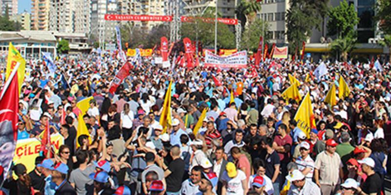 Adana ve Şanlıurfa'da 1 Mayıs etkinlikleri iptal edildi