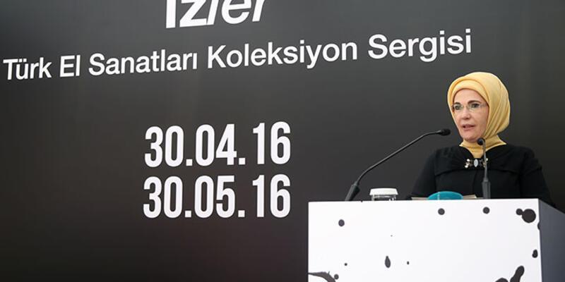 Emine Erdoğan: ''Ben illegal bir yere mi geldim?''
