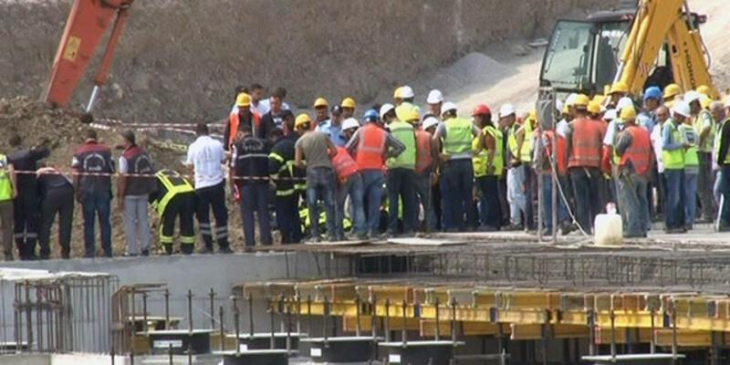 Manisa'da hastane inşaatında göçük: 3 işçi yaralı