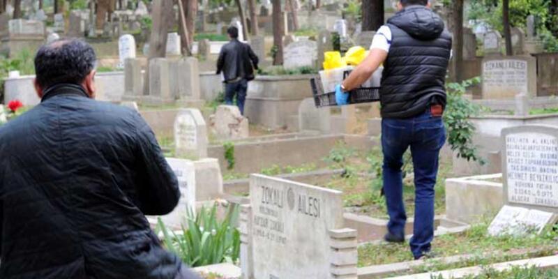 Feriköy Mezarlığı'nda molotof kokteyl ele geçirildi