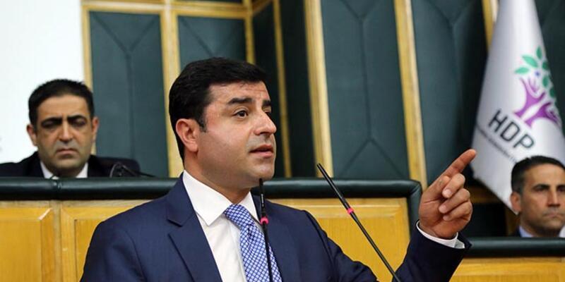 """Demirtaş'tan dokunulmazlık çıkışı: """"Halk isterse birden fazla parlamento kurar"""""""