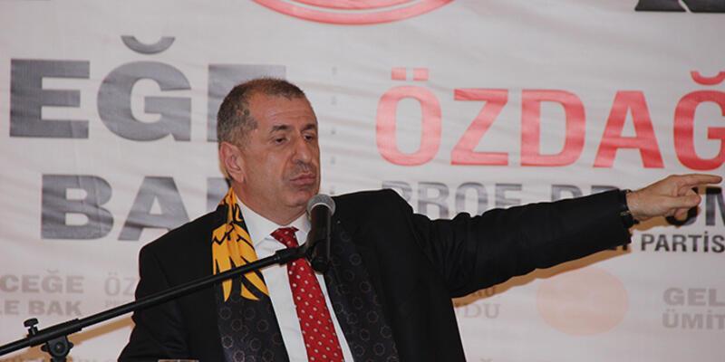 Ümit Özdağ: ''Bir AK Partili 'Erken seçime gidilecek' dedi''
