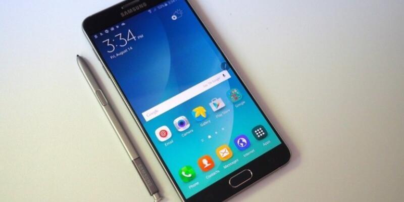 Galaxy Note 6'ya USB-C