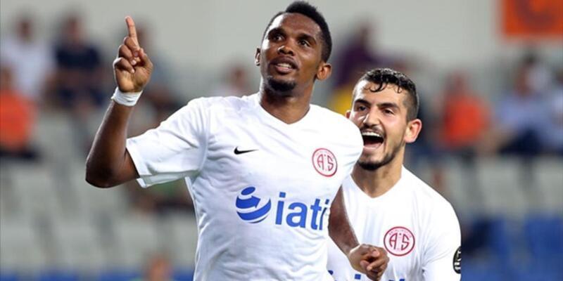 Antalyaspor cephesinden yeni Eto'o açıklaması