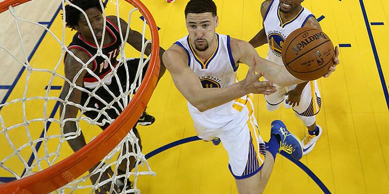 Warriors Curry'siz 2-0 yaptı