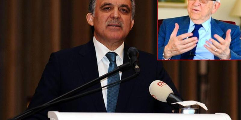 Özdem Sanberk Abdullah Gül'den özür diledi