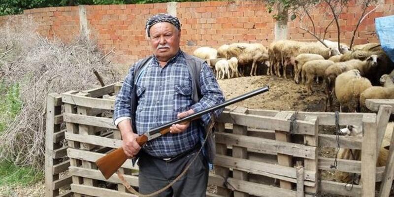 İzmir'de av tüfekleriyle canavar nöbeti