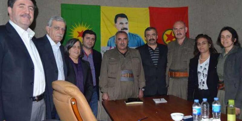 HDP'lilerin Kandil fotoğrafı fezlekelerde yer aldı