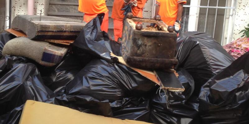 Sertifikalı çöp toplama ekibi sokağa iniyor