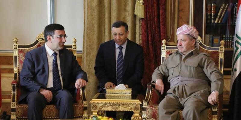 Barzani Af Örgütü Genel Sektereri'yle görüştü