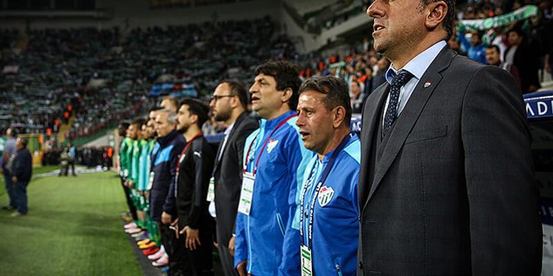Bursaspor'da Hamza Hamzaoğlu görüşme masasına çağrıldı