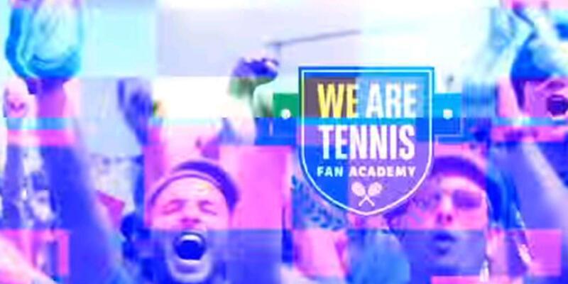 """Tenis izleyicisi yetiştiren ilk program """"We Are Tennis Fan Academy"""""""