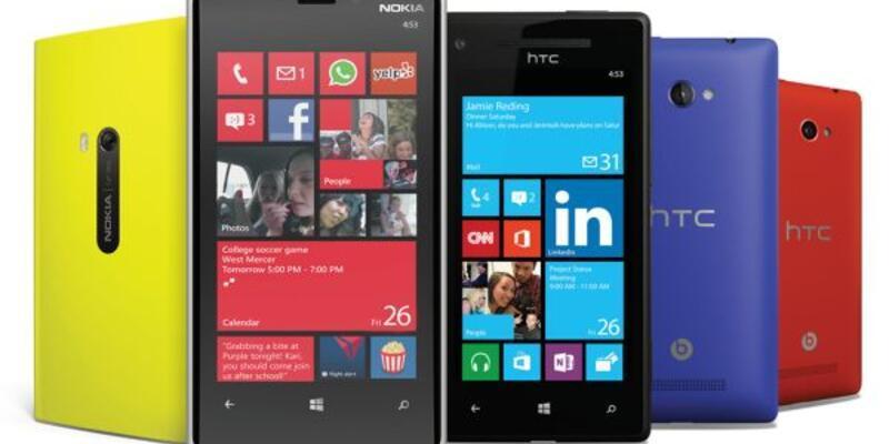 Windows Phone'dan sürpriz yükseliş