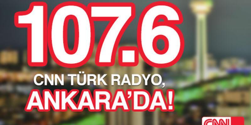CNN TÜRK Radyo, Ankara'da!