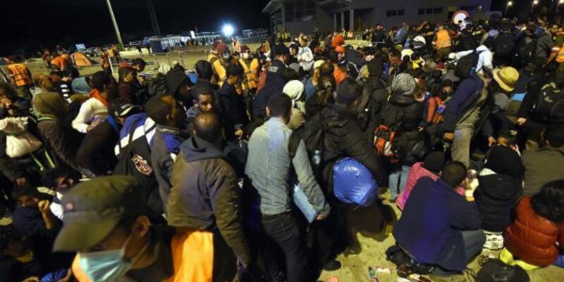 Slovakya sınır polisi bir mülteci kadını vurdu