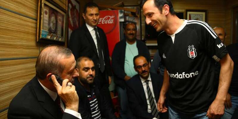 Erdoğan'dan minibüsçülere gece yarısı ziyareti