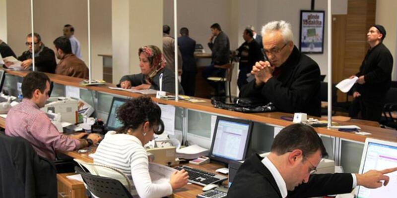 Bankalarda personel sayısı geriledi