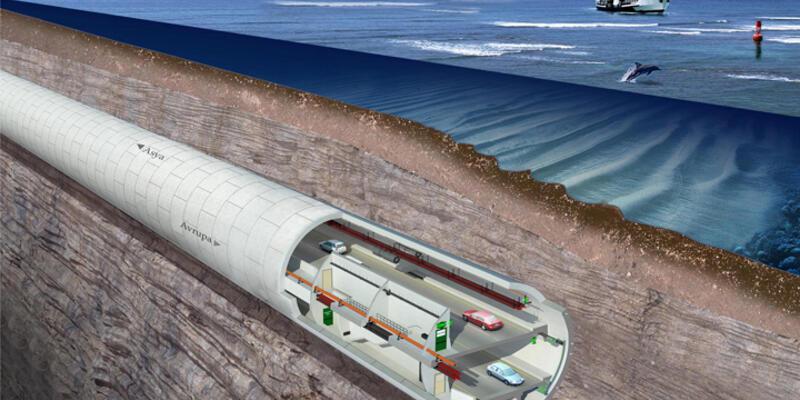 Avrasya Tüneli 8 ay önce açılacak
