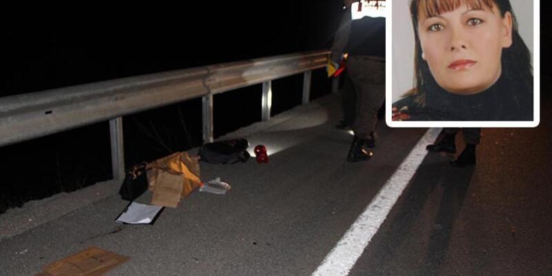 Otoyolda kamyonetten atılarak öldürüldü
