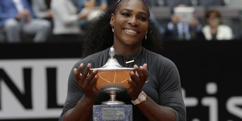Roma Açık'ta şampiyon Serena Williams oldu