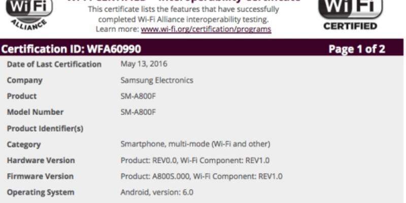 Samsung Galaxy A8 için Marshmallow güncellemesi göründü!