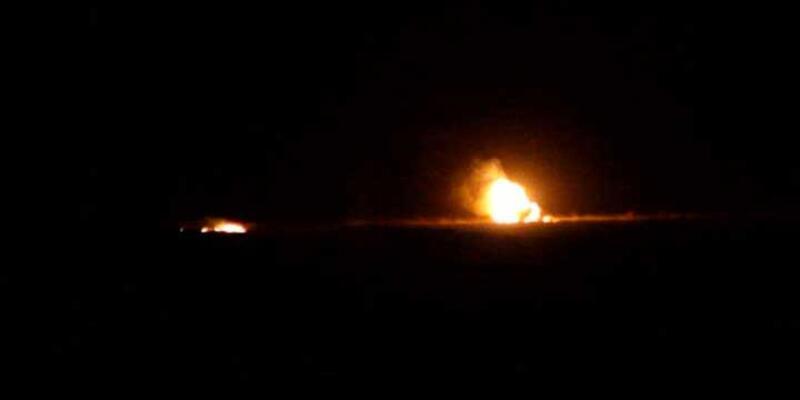 Kilis'te konuşlu tankta patlama