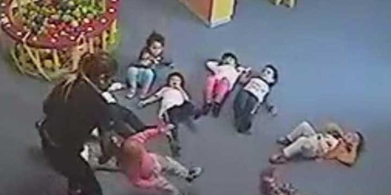 Çocuklara şiddet uygulanan kreş kapıtıldı